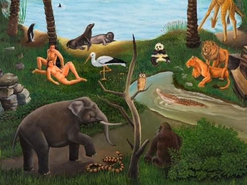 Garden Eden (detail)