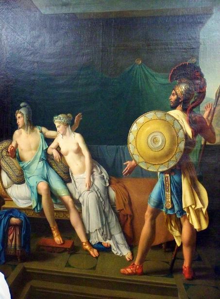 Les reproches d'Hector à Paris