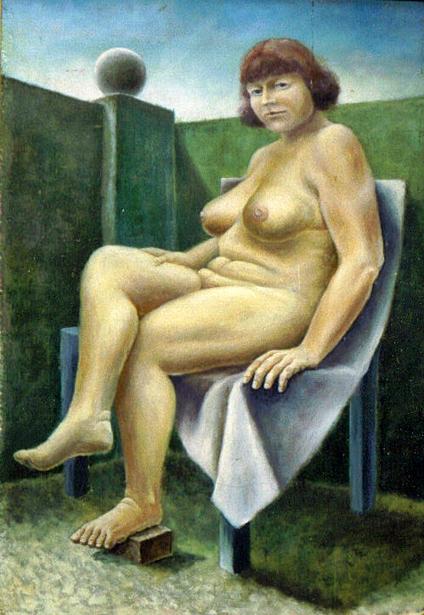 Nude In A Corner