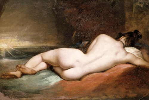 Nude Woman Reclining
