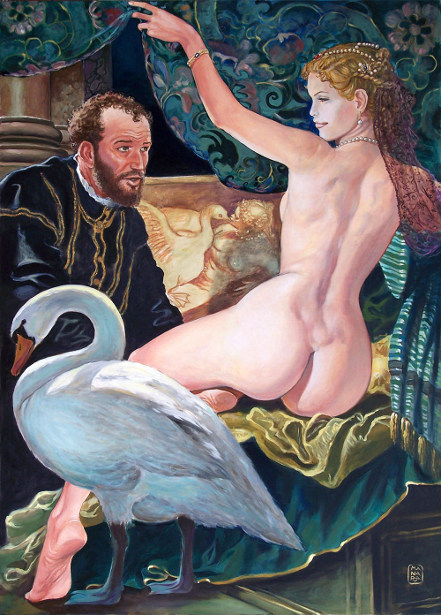 Painter And The Model: Paolo Veronese