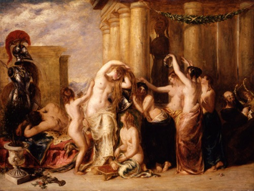 Toilette of Venus - Venus And Her Satellites