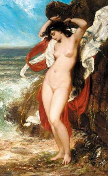 Andromeda Chained To The Rocks