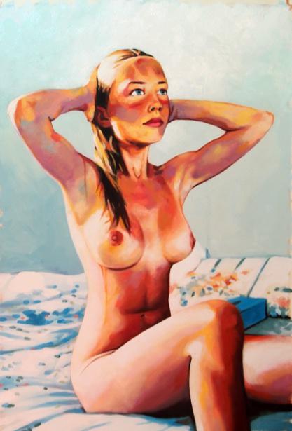Blue Nude - Marie
