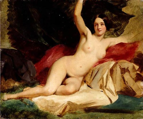 Female Nude In A Landscape