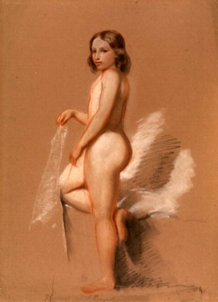 Nude Figure Of A Young Girl