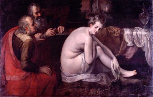 Susanna Bathing