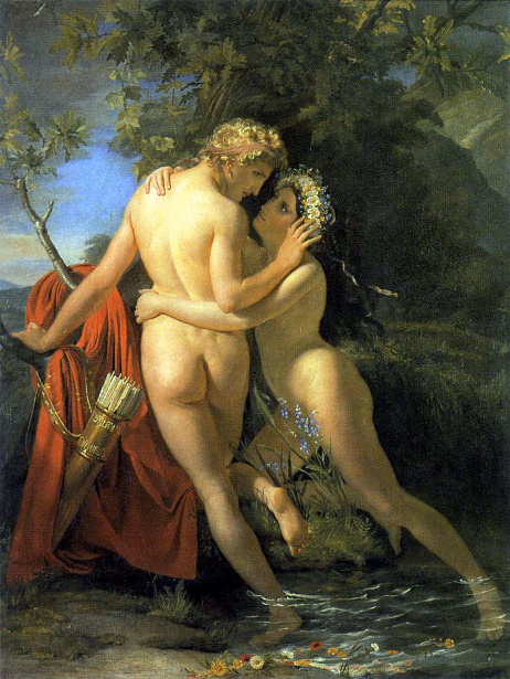 The Nymph Salmacis And Hermaphroditus
