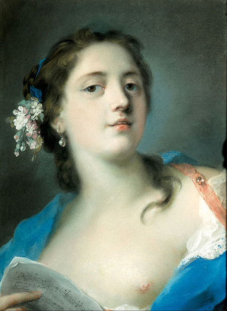 The Singer Faustina Bordoni