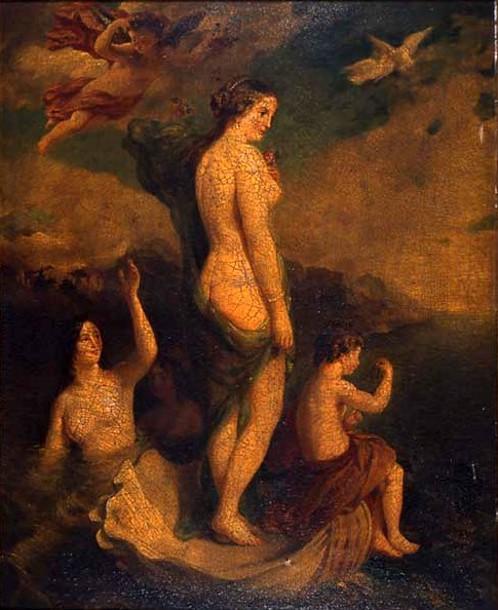 Venus Rising From The Sea