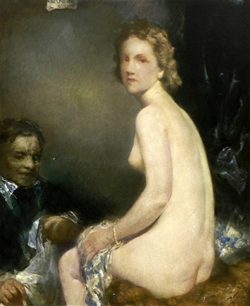 Young Girl And Her Servant