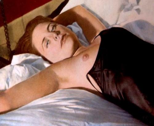 Alison In Nightdress