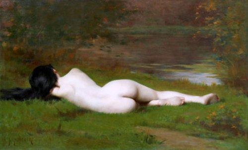 Le Repos - La nymphe de l'étang