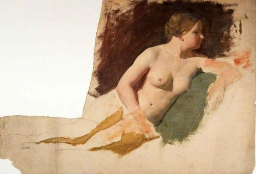 Life Study, Reclining Female Nude