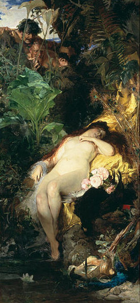Nymph And Faun