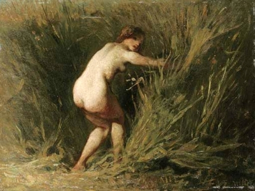 Nymph In The Reeds