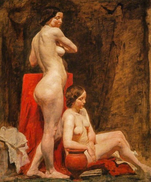 Study Of Two Female Nude Models