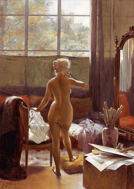 The Artist's Model - Eva