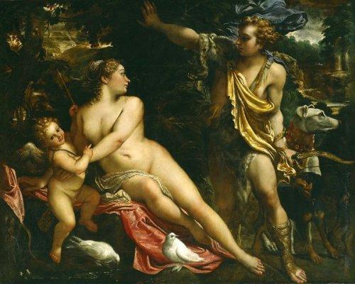Venere, Adone e Cupido