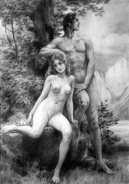 Adam And Eve, Youth