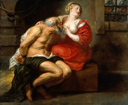 Cimon and Pero - The Roman Charity