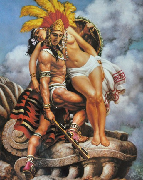 Gesto Azteca