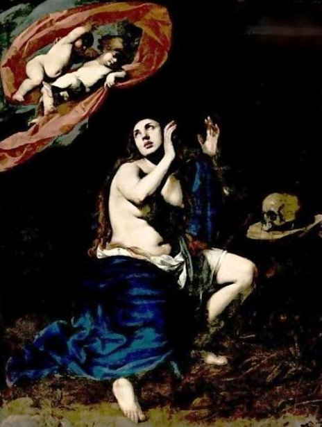 Mary Magdalene In Penitence