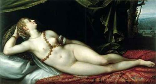 Nude Woman Asleep