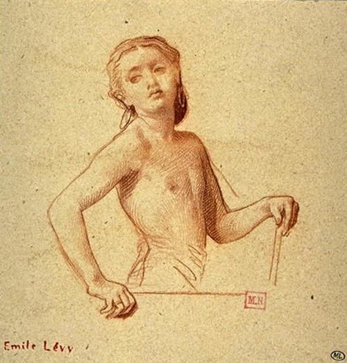 Petite fille nue