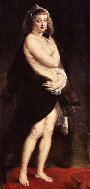 Portrait of Hélène Fourment
