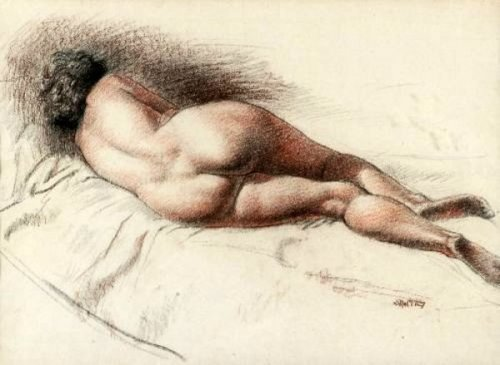 Reclining Nude (Rear)