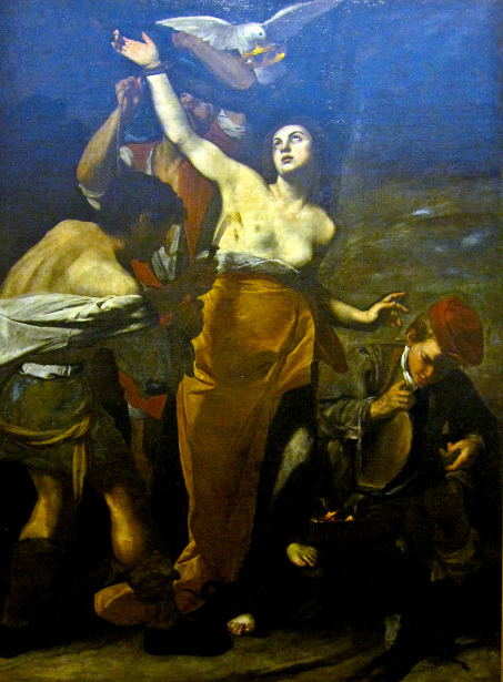The Martyrdom Of St. Agathe