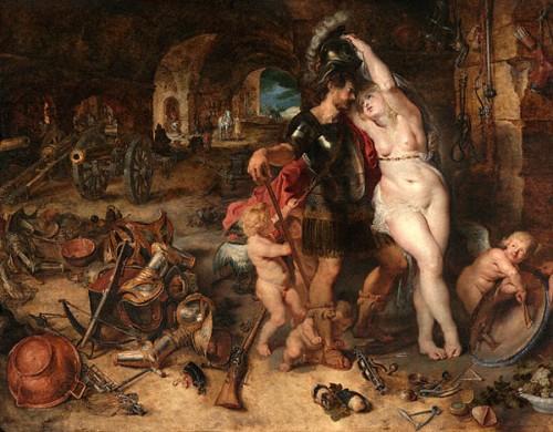 The Return From War - Mars Disarmed By Venus
