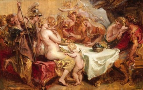 The Wedding Of Peleus And Thetis