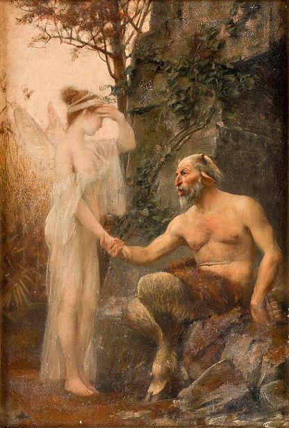 Angel And Faun