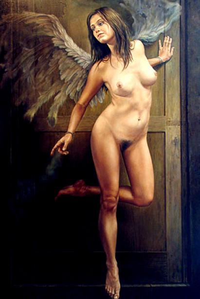 El angel de la puerta
