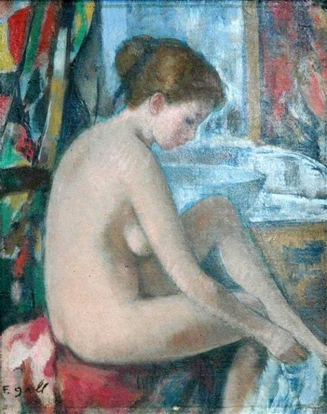 Eugenie à la sortie de son bain