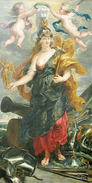 Marie de Medici As Triumphant Queen
