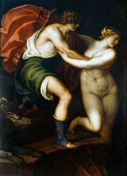 Orpheus Leading Eurydice Out Of The Underworld
