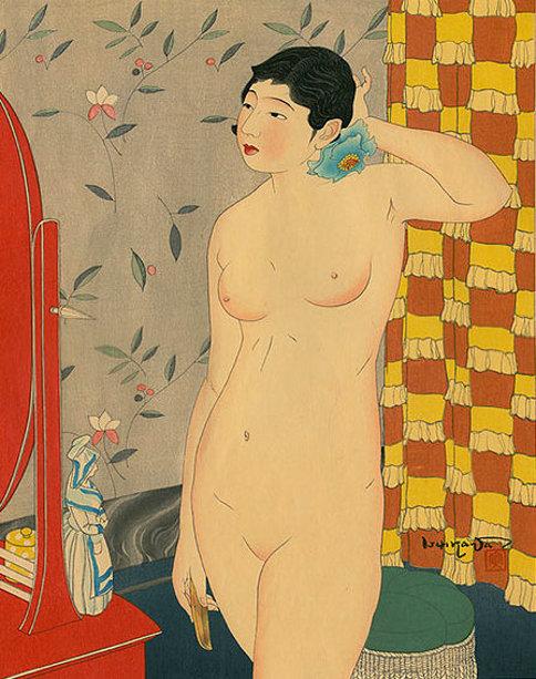 Springtime Of Life - Standing Nude