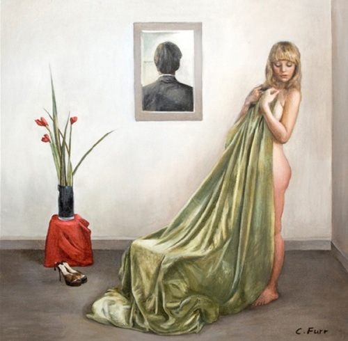 The Girl With The Green Cloth
