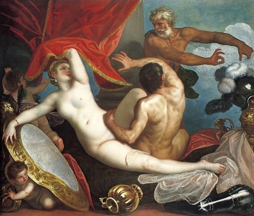 Venus And Mars Surprised By Vulcan