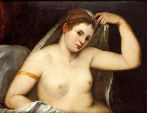 Venus Covering Herself With A Veil