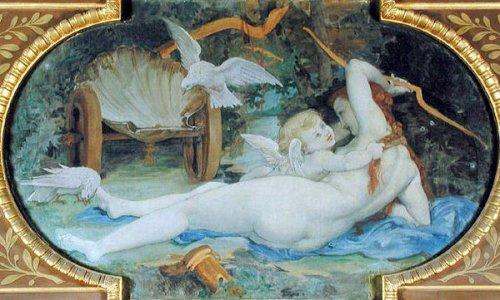 Venus jouant avec l'Amour