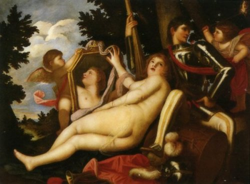 Venus, Mars And Two Cupids