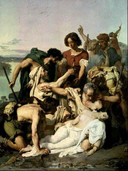 Zenobie retrouvée par les bergers sur les bords