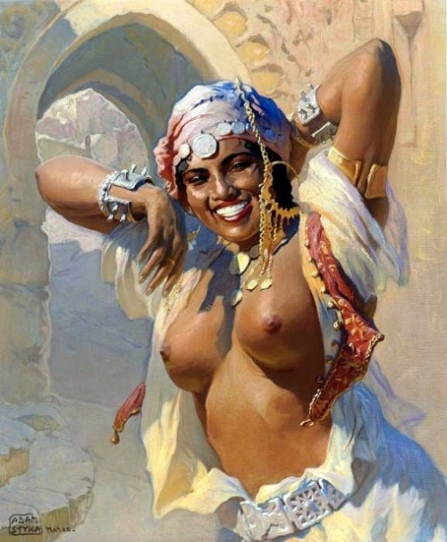Zohra, A Moroccan Dancer