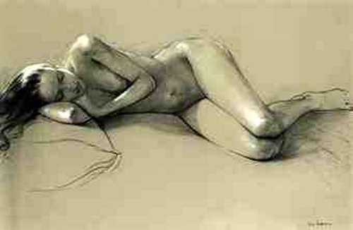 A Sleeping Female Nude