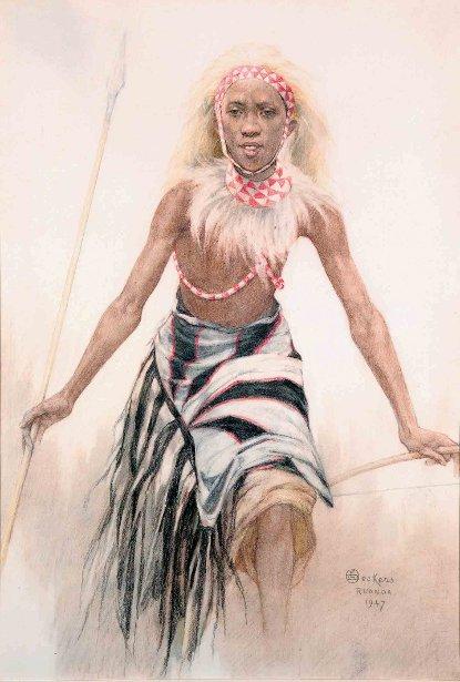 Danseur Tutsi, Rwande