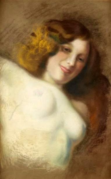 Femme aux seins nus